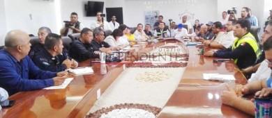 """Sesiona Consejo de PC en Los Cabos; retiran alerta de máximo riesgo por """"Bud"""""""
