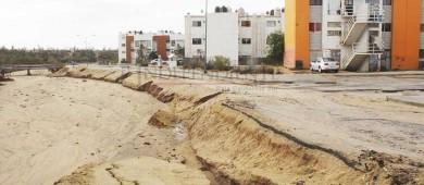 Retoma su cauce arroyo en Fraccionamiento Chulavista Homex de CSL