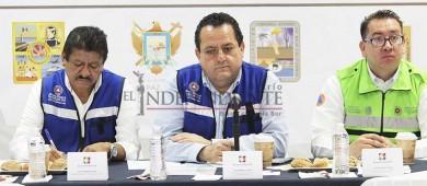 Ningún funcionario debe salir de BCS si hay amenaza de ciclón: Gobernador