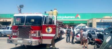 Fuga de gas moviliza a cuerpos de emergencia en CSL