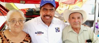 Adultos Mayores del 3er Distrito respaldarán con su voto a Alfredo Zamora