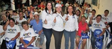 Mi compromiso es defender los intereses de nuestro Estado: Lupita Saldaña