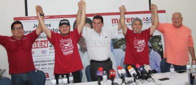 Expanistas se integran a la campaña de Rubén Muñoz