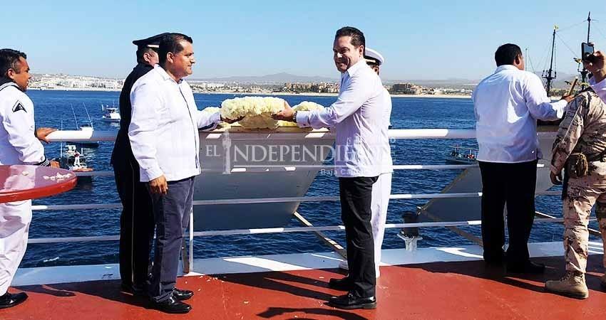 Se conmemoró en la Bahía de Cabo San Lucas el Día de la Marina Nacional