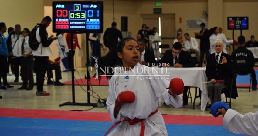 Cierra karate con 14 medallas en la Olimpiada Nacional