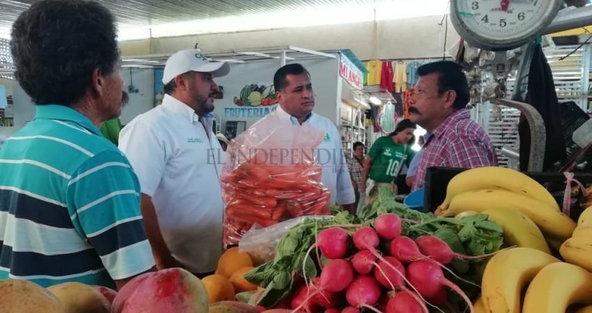 No más abandono ni promesas huecas a los mercados de La Paz: Saúl González Núñez