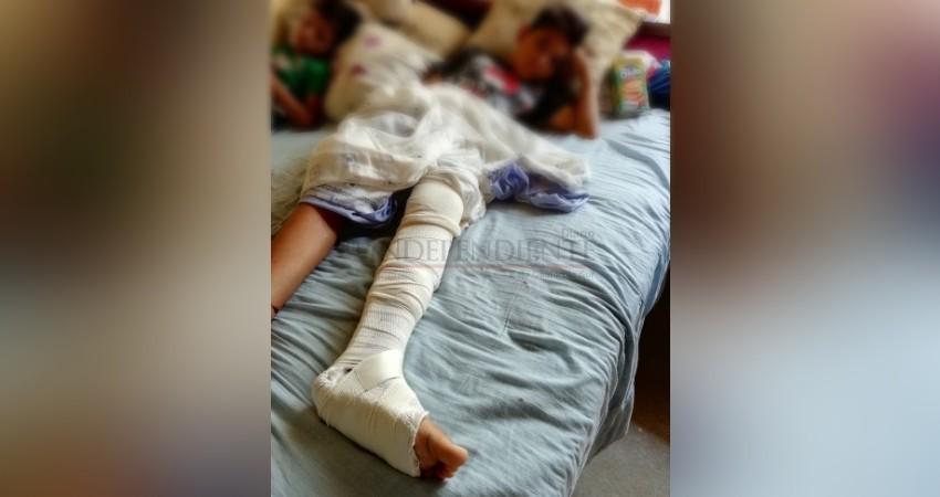 Señalan ala jurídica del Partido Humanista como culpable de choque donde resultaran heridos 3 menores