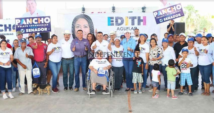 Iremos al Congreso de la Unión a traer los resultados que necesitan las comunidades del norte: Pancho Pelayo