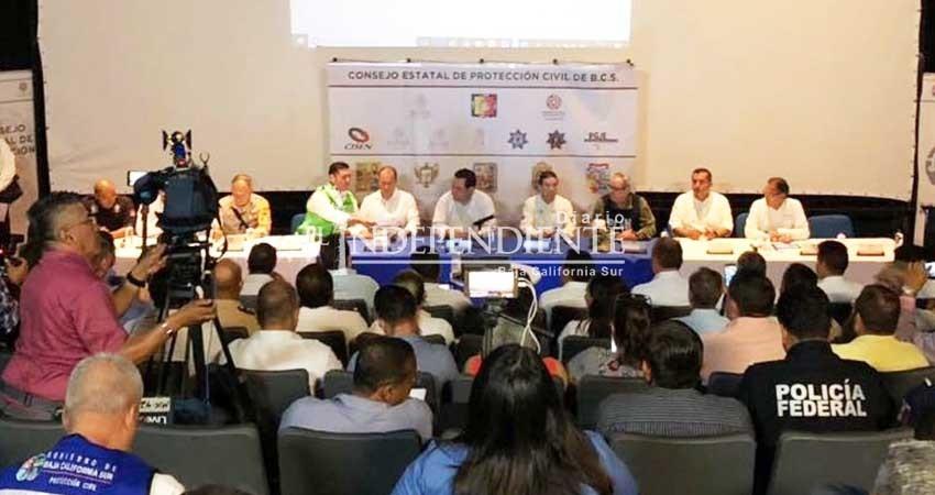 Suspenden las clases en La Paz y Los Cabos a partir del jueves en el turno vespertino