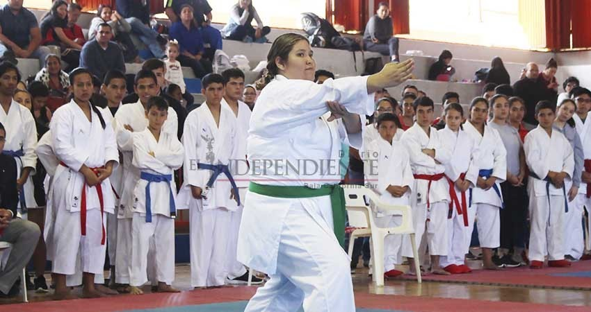 Histórica medalla en para el karate  Sudcaliforniano