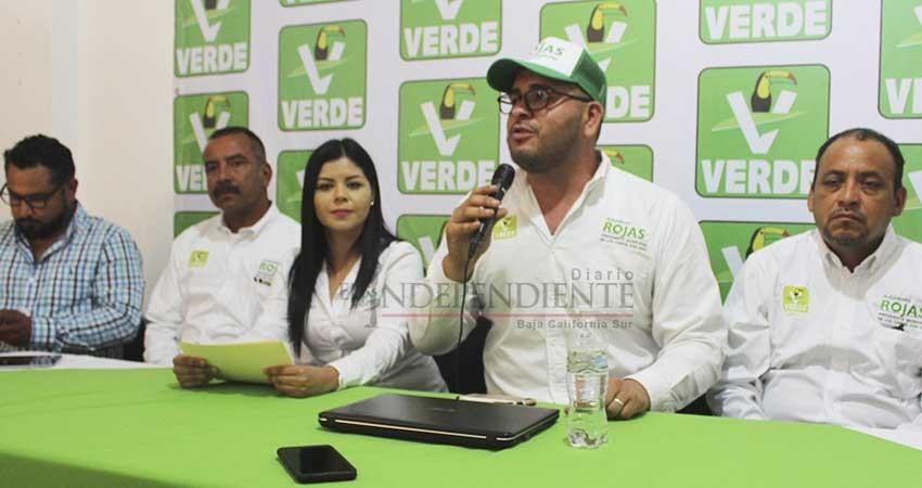 Presenta PVEM terna de perfiles para dependencias municipales en Los Cabos