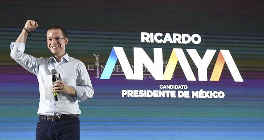 Llega a BCS el tercer candidato presidencial de la semana; Ricardo Anaya estará en Los Cabos