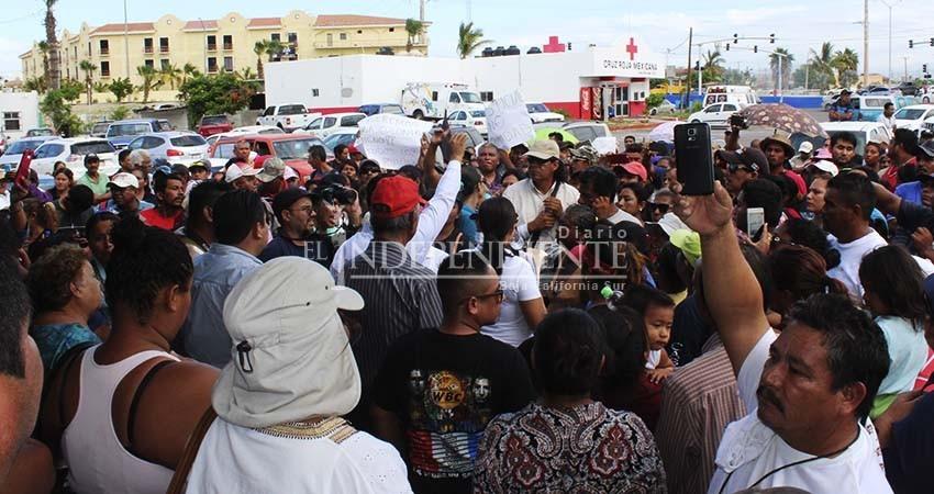 Se manifestarán este martes por la falta de agua en Los Cabos