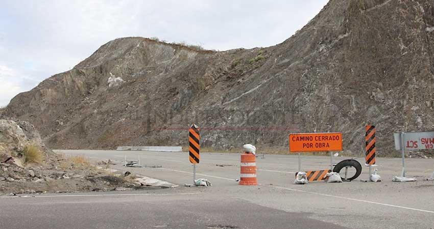 Realizará SCT pruebas de estabilidad en zona afectada de carretera a Los Cabos
