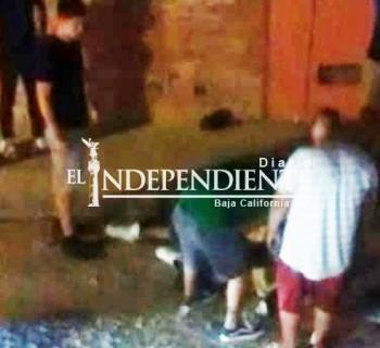 Vecinos intentan linchar a ladrón en colonia La Joya de CSL