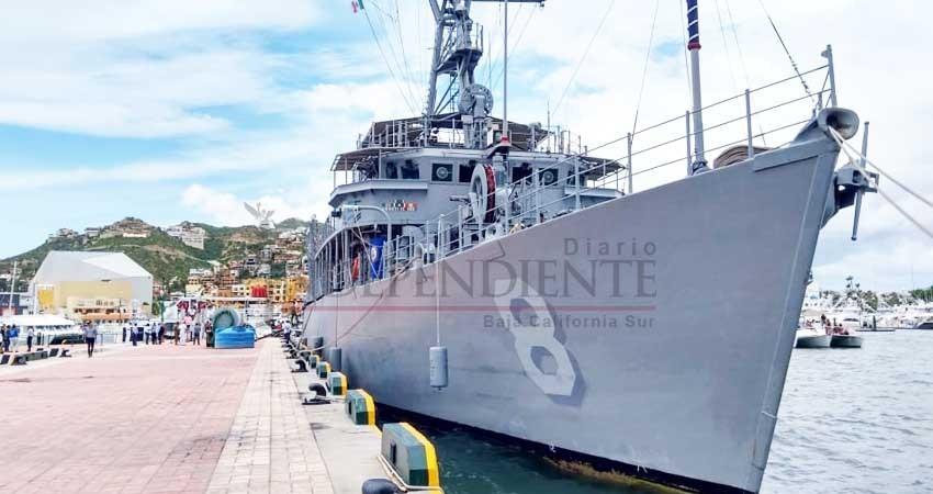 Llegan buques de la Armada Norteamericana al puerto de Cabo San Lucas