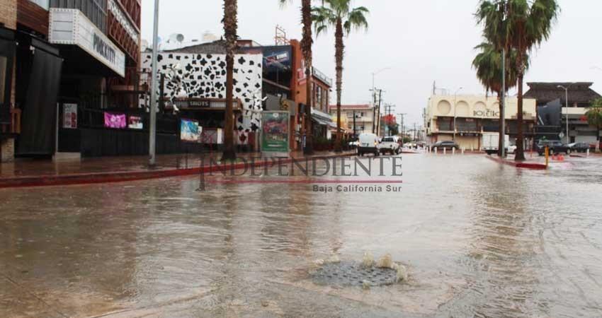 Fallas en drenaje de la zona turística de CSL, una constante en cada lluvia: Amigos CSL