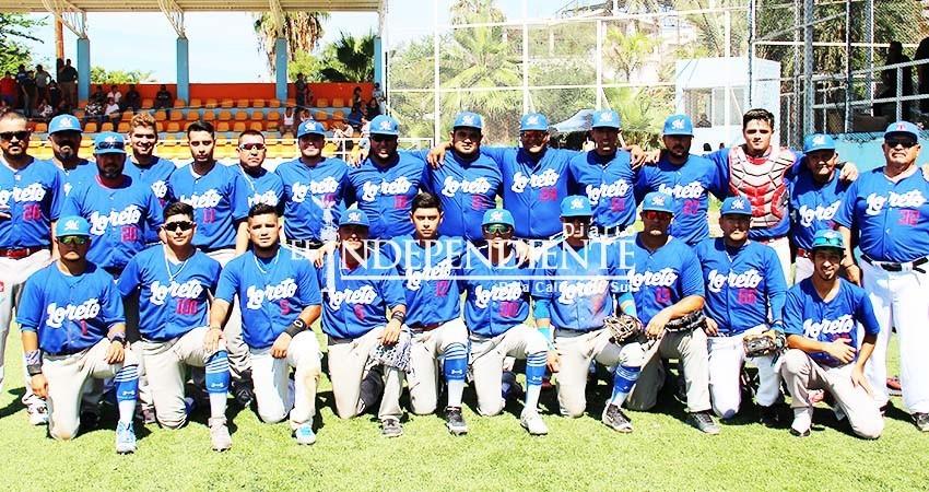 Loreto nuevo campeón estatal de beisbol