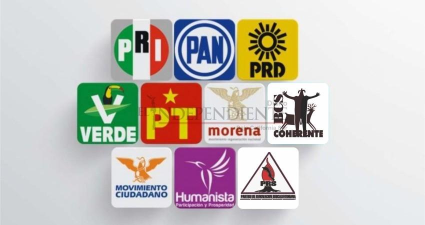 Entregarán bolsa de 28 mdp a partidos políticos de BCS en 2019