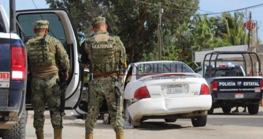 Se desata persecución entre Marinos y sospechosos en Los Cabos