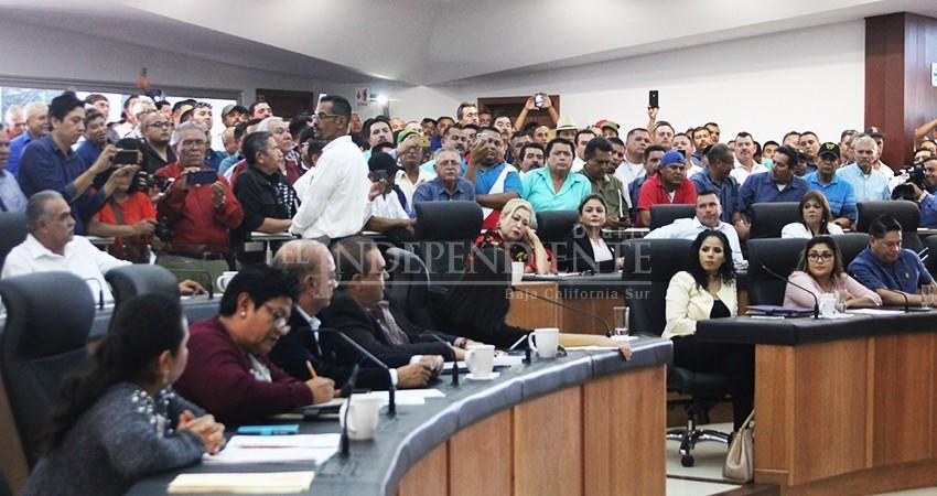 """En total discordia coalición """"Juntos Haremos Historia"""" dentro del Congreso BCS"""