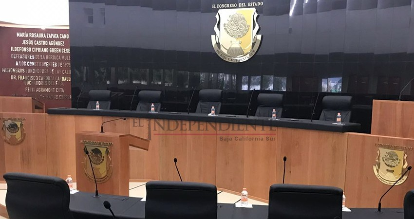 Aprueba Congreso por unanimidad el presupuesto para BCS 2019