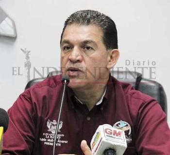 Se denuncian 3 robos diarios en La Paz: Rubén Muñoz