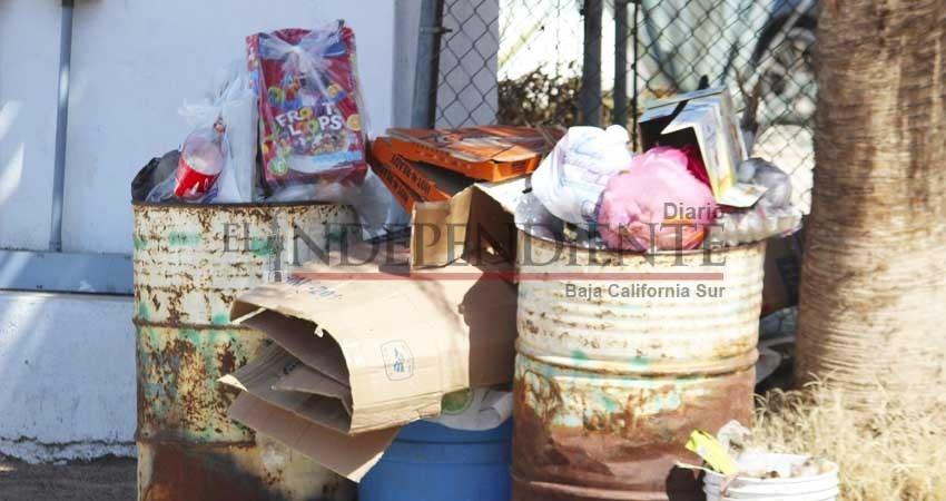 Tardarán 90 días en regularizar recolección de basura en La Paz