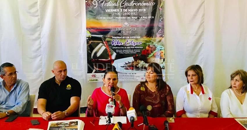 Kika Edgar amenizará el festival gastronómico La Pazión por el Sabor