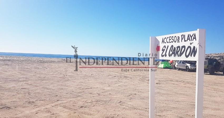 Exhorta Zofemat Los Cabos a la población, a dejar de enterrar basura en las playas