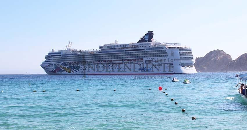 Cabo San Lucas de los puertos del Pacifico Mexicano que más cruceros recibe