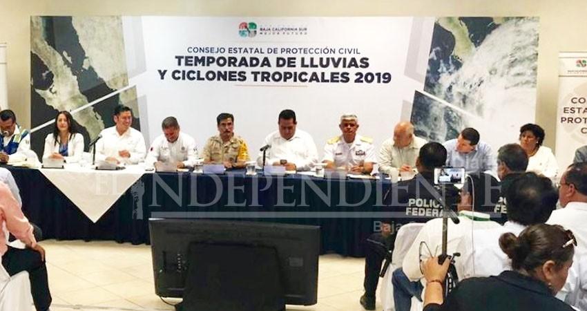 Instalan Consejo de Protección Civil por inicio de temporada de ciclones 2019
