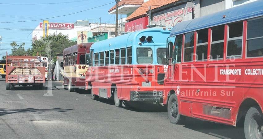 Quiere el Alcalde La Paz control de concesiones, rutas y tarifas con Ley de Movilidad