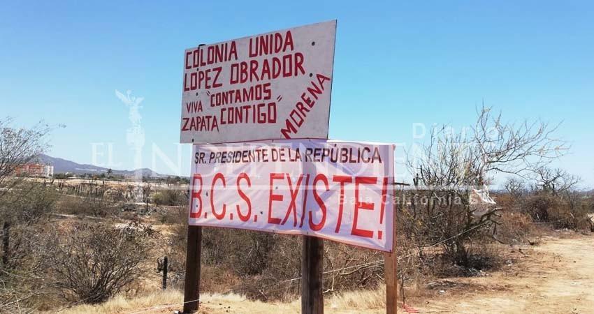 Hay tres denuncias por invasión de tierras en Los Cabos en lo que va de este año: PGJE