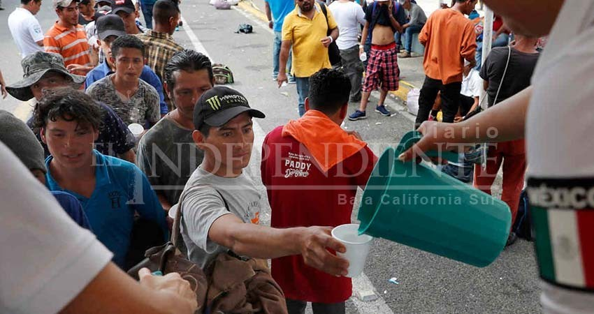Atenta migración en BCS ante la posible llegada de centroamericanos