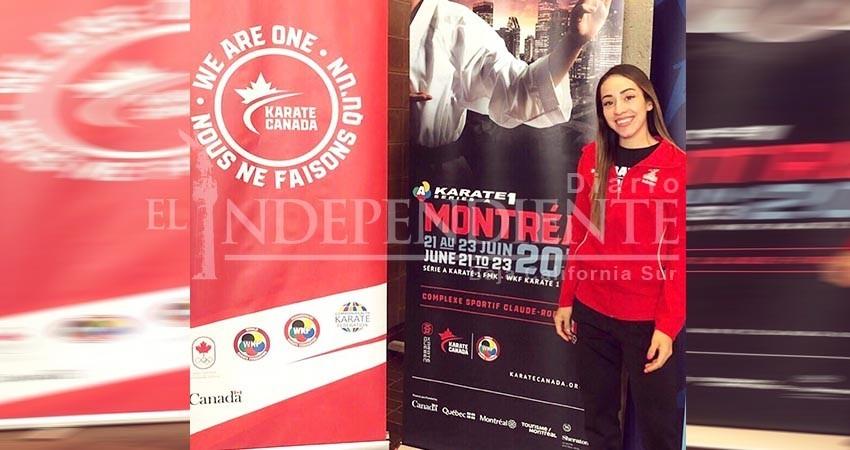 Asiste la Karateca Sudcaliforniana Paula Flores a torneos internacionales