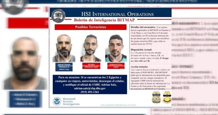 Alertan sobre posible presencia de terroristas de ISIS en México