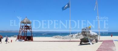 Certificarán 19 playas con banderas azules en Los Cabos