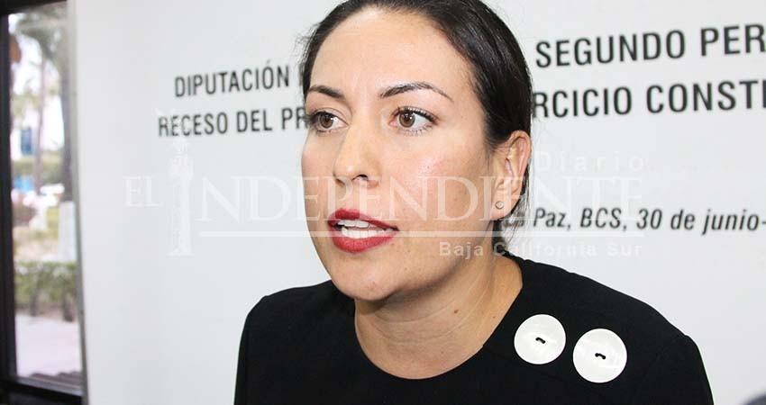 Ilegal que haya más de una fracción Morena en Congreso BCS: Milena Quiroga