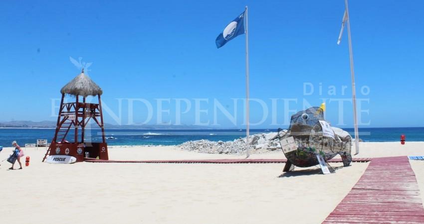 BCS refrenda compromiso en calidad y excelencia de sus playas: Blue Flag