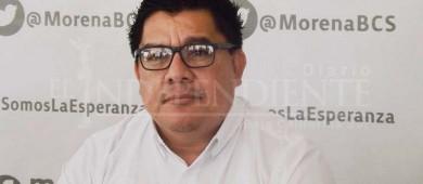 Aceptan renuncia de Rentería Santana a la dirigencia de Morena BCS; se va a una filial de Pemex
