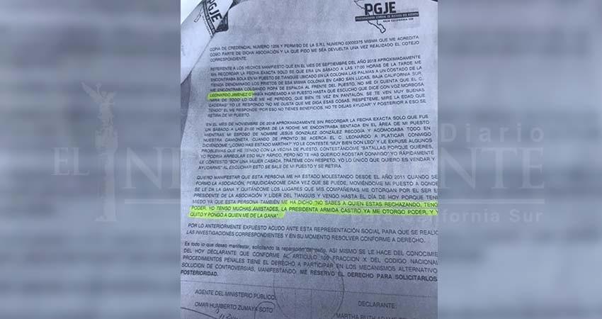 Es denunciado por acoso sexual funcionario del Ayto de Los Cabos