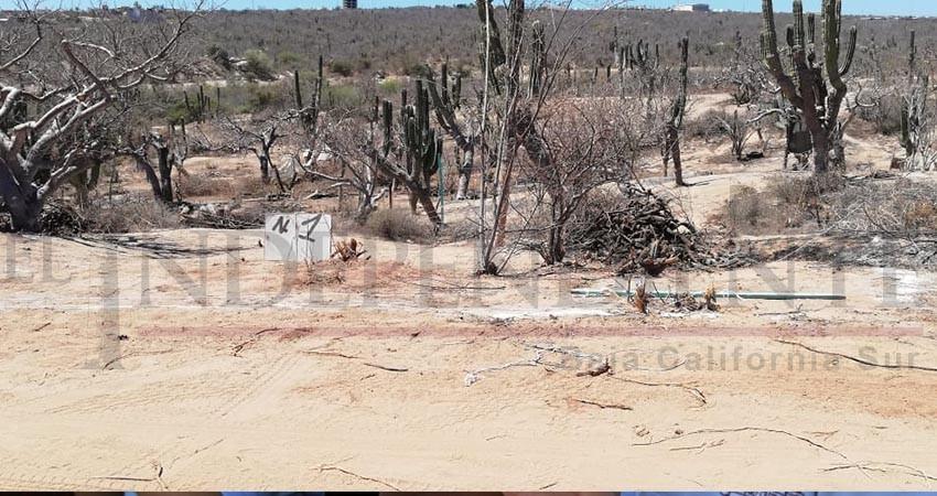 Que la población caiga en chantajes sobre regularización y venta de terrenos