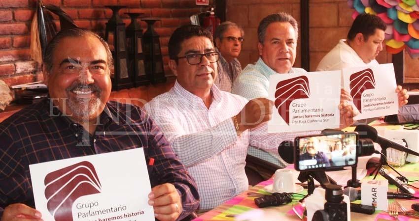 Hartos del manoteo de Víctor Castro en el Congreso, crean Juntos Haremos Historia por BCS