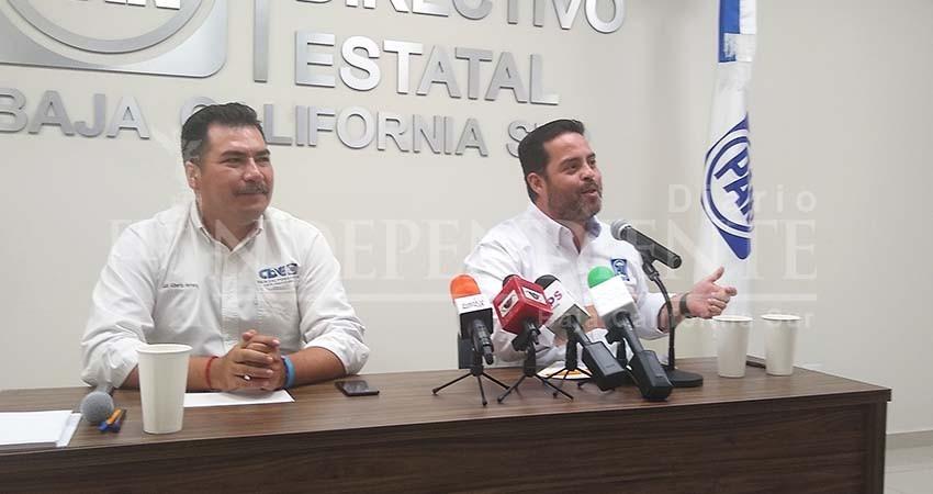 """Critica PAN BCS """"pasividad"""" de autoridades en CDMX por manifestación feminista"""