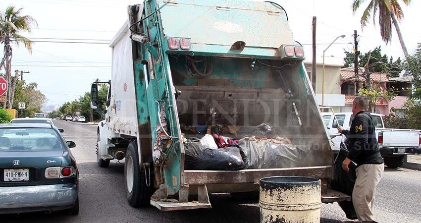 Recolección de basura de La Paz cambiará rutas y horarios
