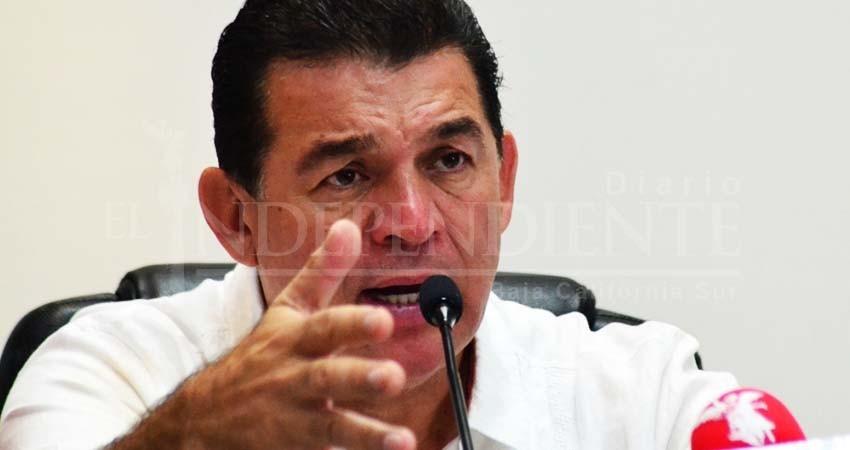 Que el robo se tipifique como delito grave, pide alcalde de La Paz al Congreso del Estado