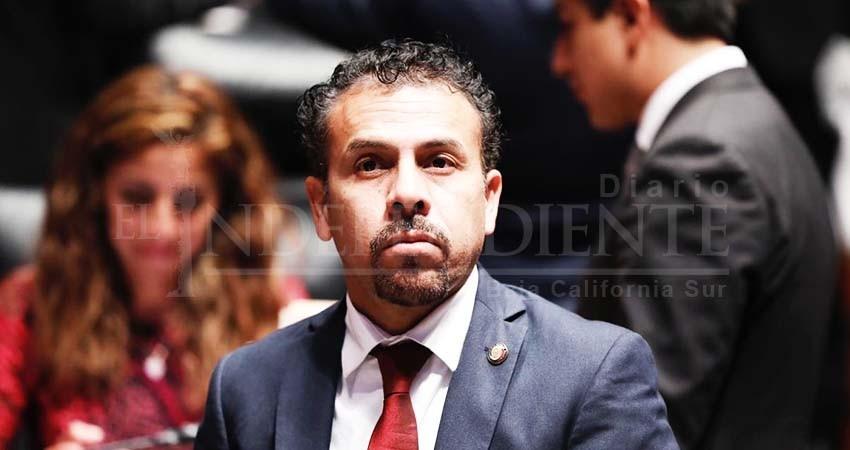 Espera senador Velázquez respuesta de autoridades en BCS para reducción de sueldo