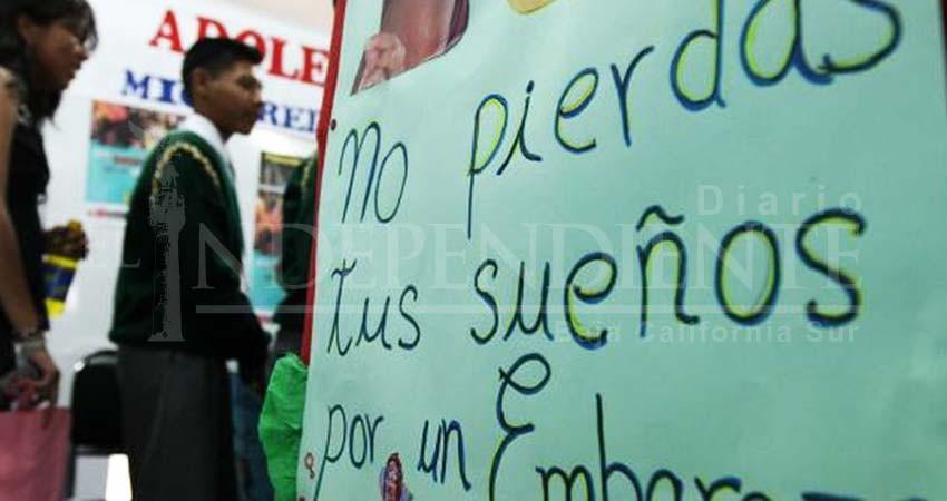 Embarazos en adolescentes de BCS han reducido hasta un 20%: George Flores