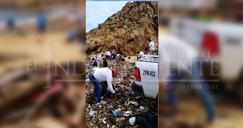 Tras el diluvio, voluntarios se sumarán a Zofemat en la limpieza de playas